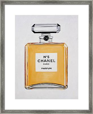 Chanel Me Framed Print by Denise H Cooperman