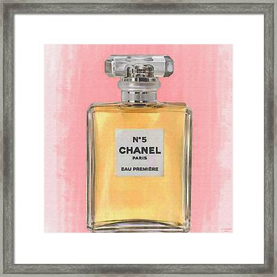 Chanel No 5 Eau De Parfum Framed Print
