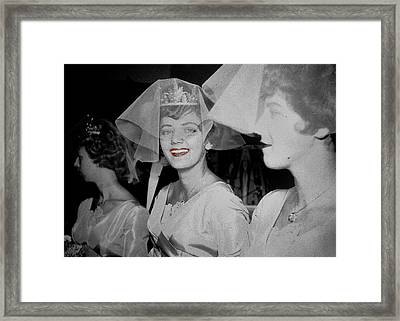 Chanel Premier Rouge 1924 Framed Print by JAMART Photography