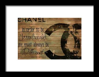 Designs Similar to Chanel Wood Panel Rustic Quote