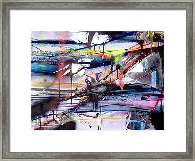 Change In The House Of Flies Framed Print