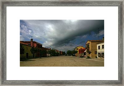 Framed Print featuring the photograph Change In The Weather by Anne Kotan