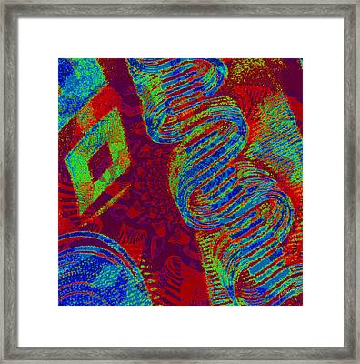 Change Into Comfort Framed Print by Fania Simon