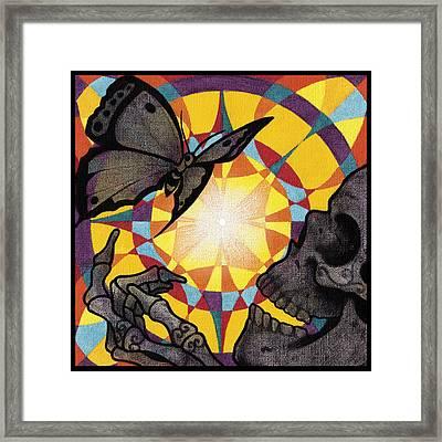 Change Mandala Framed Print