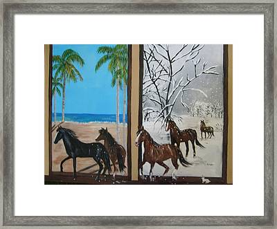 Change Of Scenery Framed Print