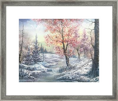 Change Of Seasons  Framed Print