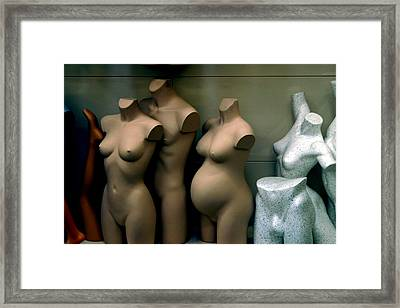 Changes Framed Print by Jez C Self