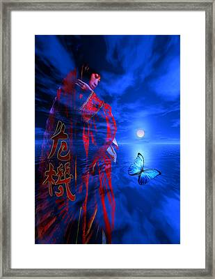 Framed Print featuring the digital art Changes by Shadowlea Is