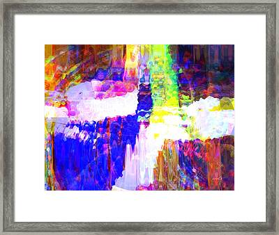Changing Color Framed Print by Fania Simon