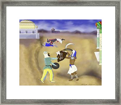 Changing Of The Guard Framed Print by Mike Sexton