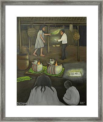 Changing Religions Framed Print