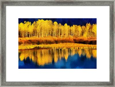 Changing Seasons Framed Print by Russ Harris