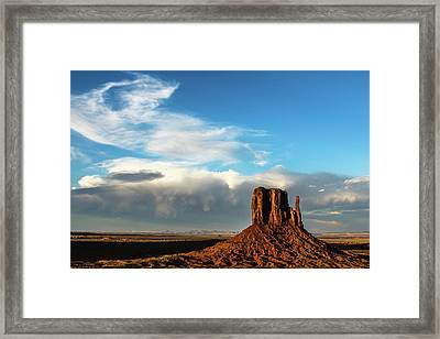 Changing Sky  Framed Print by James Marvin Phelps