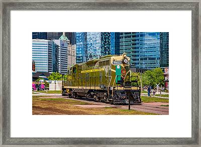 Changing Times 3 Framed Print