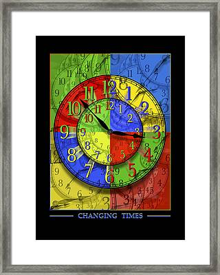 Changing Times Framed Print by Mike McGlothlen