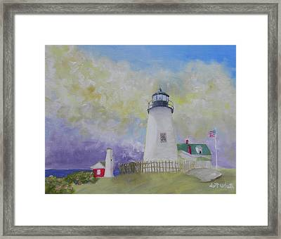Changing Weather Beauty Framed Print by Scott W White