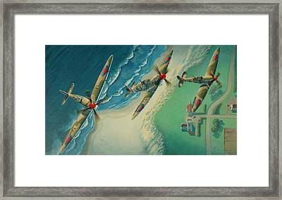 Channel Watcher Framed Print by  Keith Kochenour