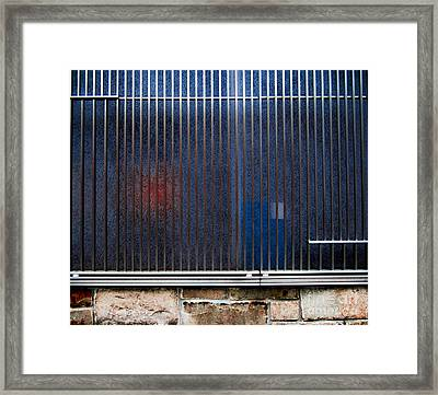Channelling Mondrian Framed Print by James Aiken
