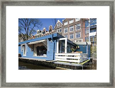 Channels Of Amsterdam Framed Print by Andre Goncalves