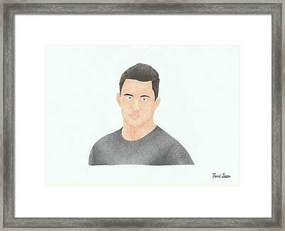 Channing Tatum Framed Print