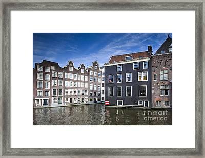 Channles Of Amsterdam Framed Print by Andre Goncalves
