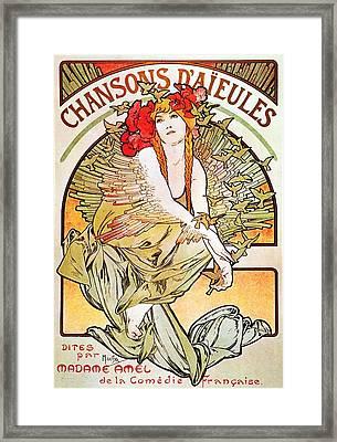 Chansons D'aieules Framed Print