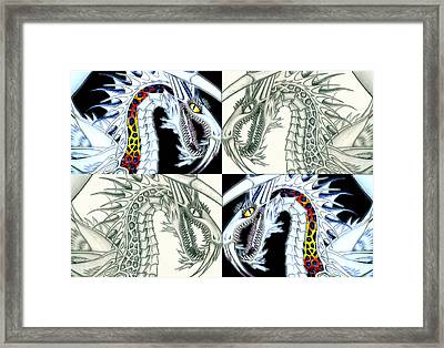 Chaos Dragon Fact Vs Fiction Framed Print