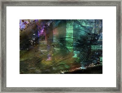 Chaos In Solitude Vi Framed Print