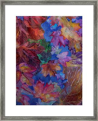 Chaos In The Brain Framed Print