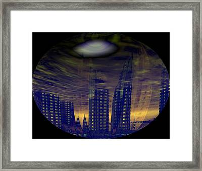Chaos Framed Print by Mason BenYair