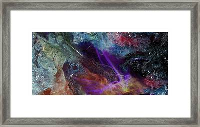 Chaos Of Creation Framed Print by Sevan Thometz