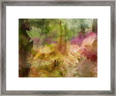 Chaos Framed Print by Sandy Belk