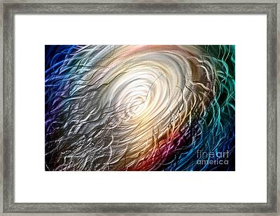 Chaos Theory Framed Print by Kerry Krueger