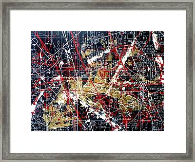 Chaos Theory Framed Print by Tara Baden