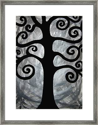Chaos Tree Framed Print