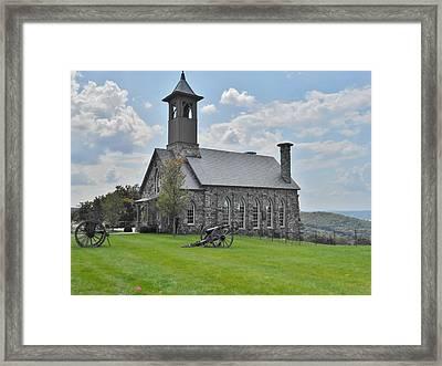 Chapel 2 Framed Print by Julie Grace
