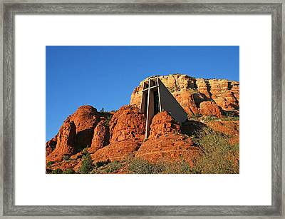 Chapel Afternoon Framed Print