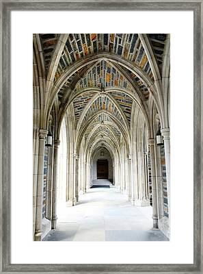 Chapel Archway Framed Print