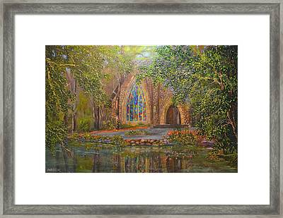 Chapel At Callaway Framed Print