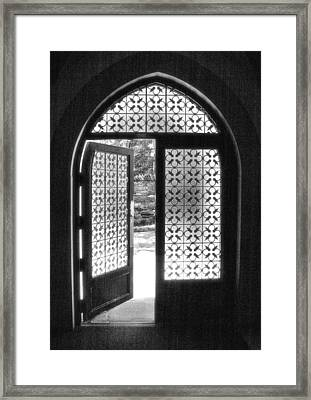 Chapel Door Framed Print