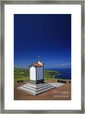 Chapel Framed Print by Gaspar Avila