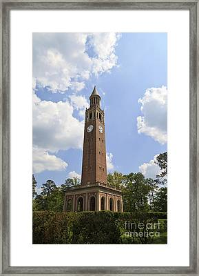 Chapel Hill Bell Tower Framed Print