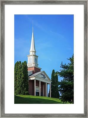 Chapel Hill Golf Course Clubhouse Framed Print