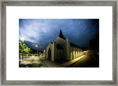 Chapel Framed Print by Hyuntae Kim