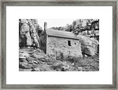 Chapel In The Rock Framed Print by Diane Macdonald