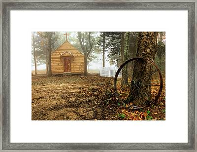 Chapel In The Woods 1 Framed Print