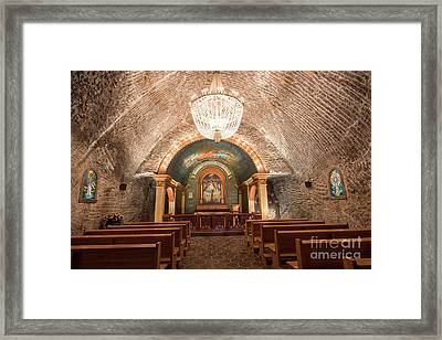 Framed Print featuring the photograph Chapel  by Juli Scalzi