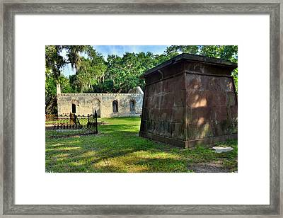 Chapel Of Ease 2 Framed Print by Lisa Wooten