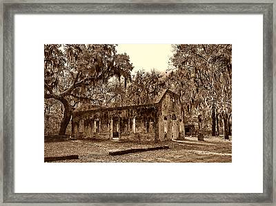 Chapel Of Ease Sc Framed Print by Skip Willits