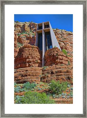 Chapel Of The Holy Cross II Framed Print by Brenton Cooper